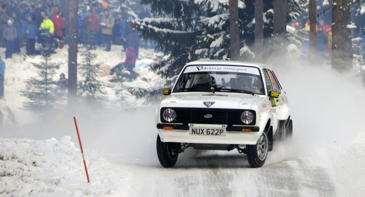 Solberg vann Rally Sweden Historic