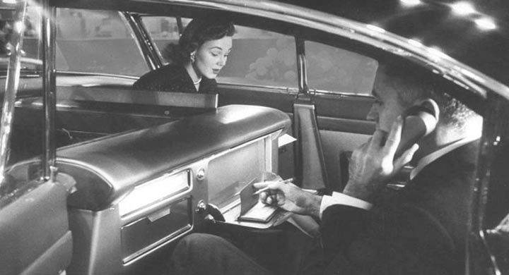 Kontoret på hjul - Cadillac