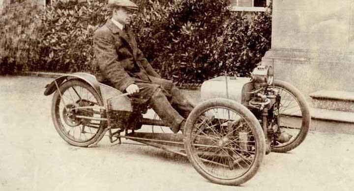 Från tre till fyra hjul med Morgan