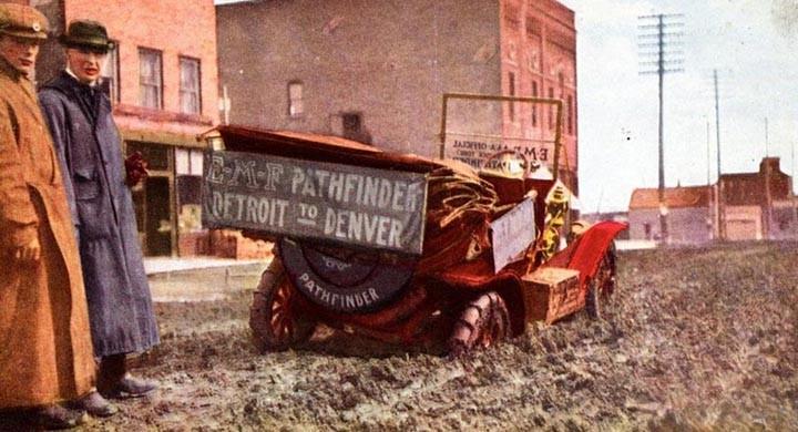 En vårdag i Winnebago 1909