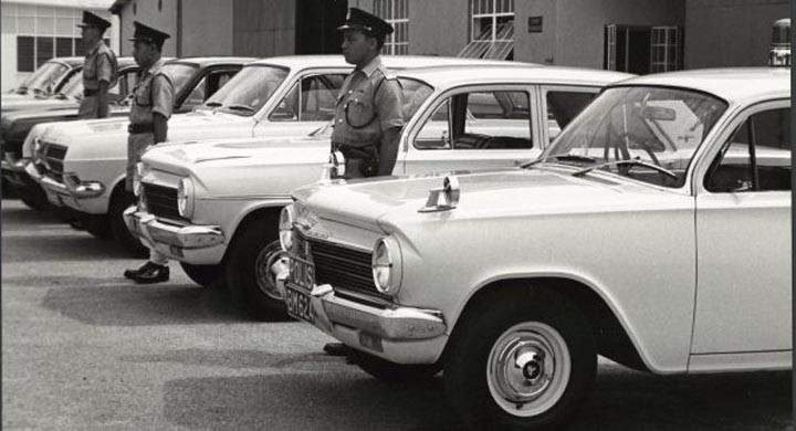 Uppställning i Kuala Lumpur 1966