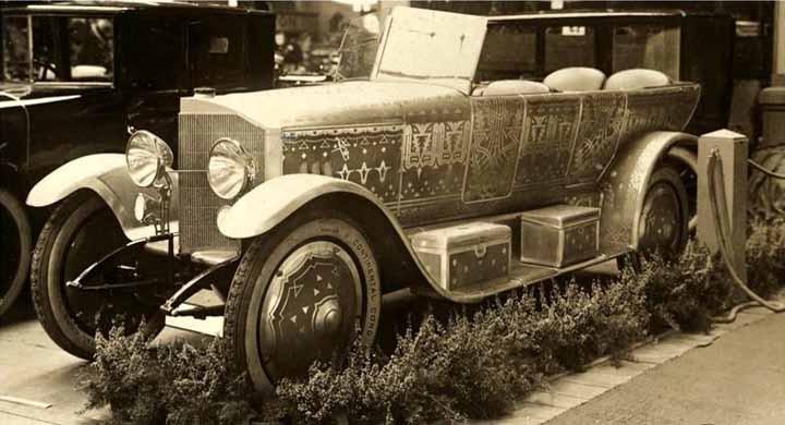 Styling på Berlinmässan 1921