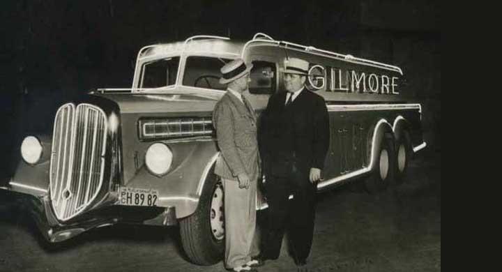 Gilmores lysande reklam