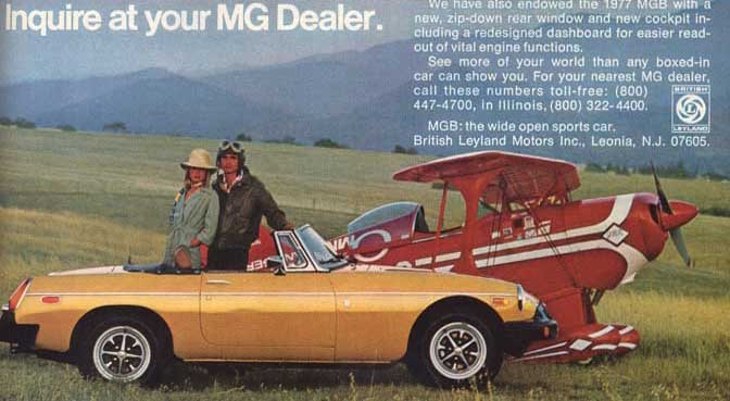 MG – the American way