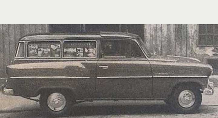 Opel Rekord Reisewagen