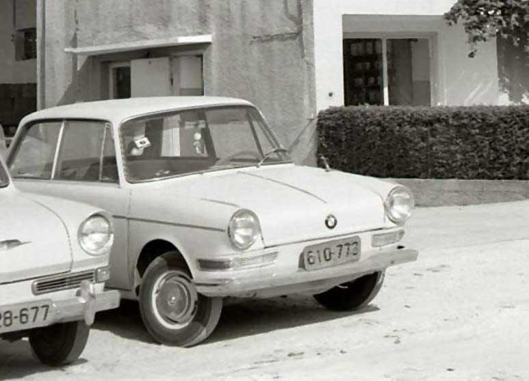 En ovanlig syn i Haifa 1964