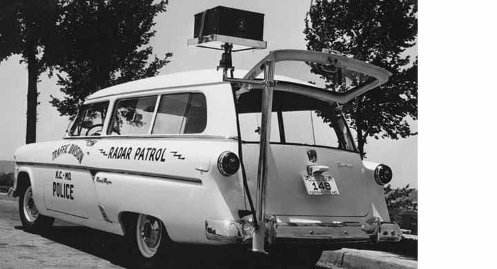 Radarvarning 1954
