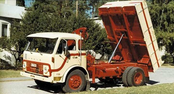 Den nya lastbilen