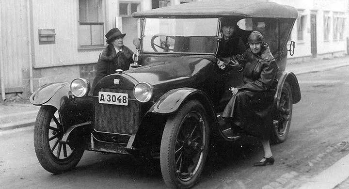 Buick med kryss 1919