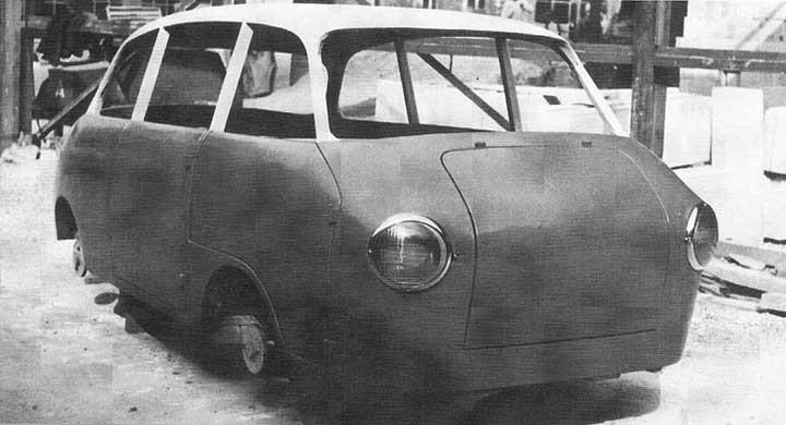 En annorlunda Porsche från Wendler