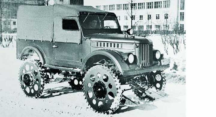 I sovjetiska snösvängen