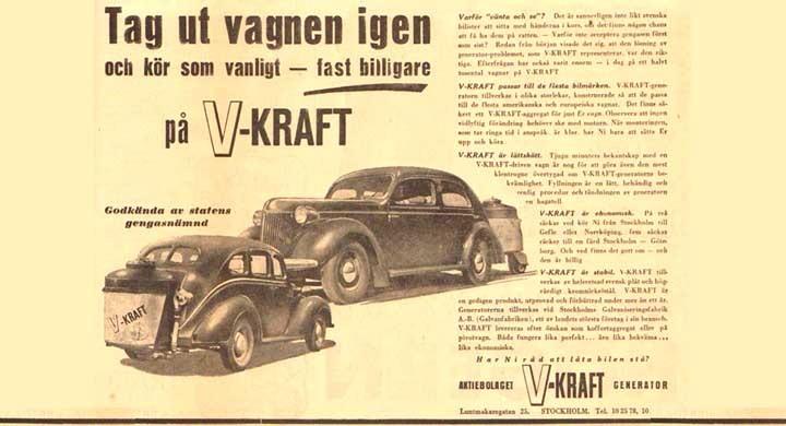 Fart med V-kraft 1944