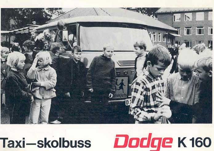 Skolskjuts med Dodge