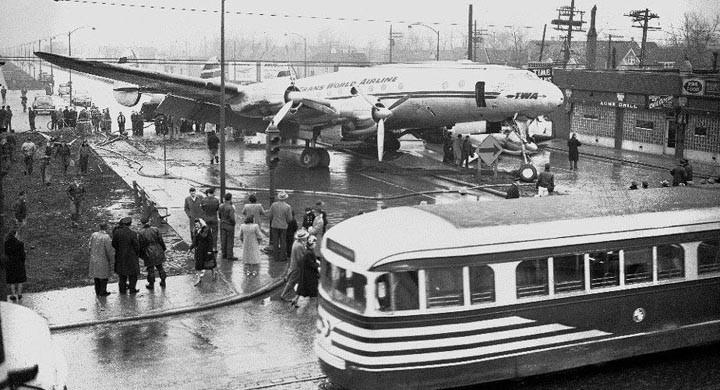 En dramatisk decemberdag i Chicago 1949