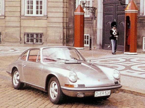 Porsche i rostfritt