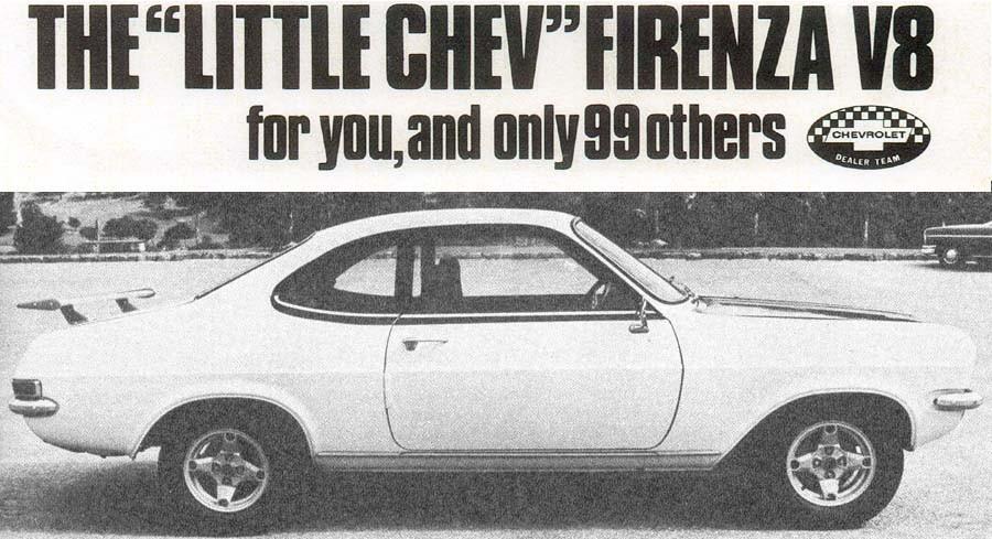 Kapstadstrollet - Chevrolet Firenza Can AM