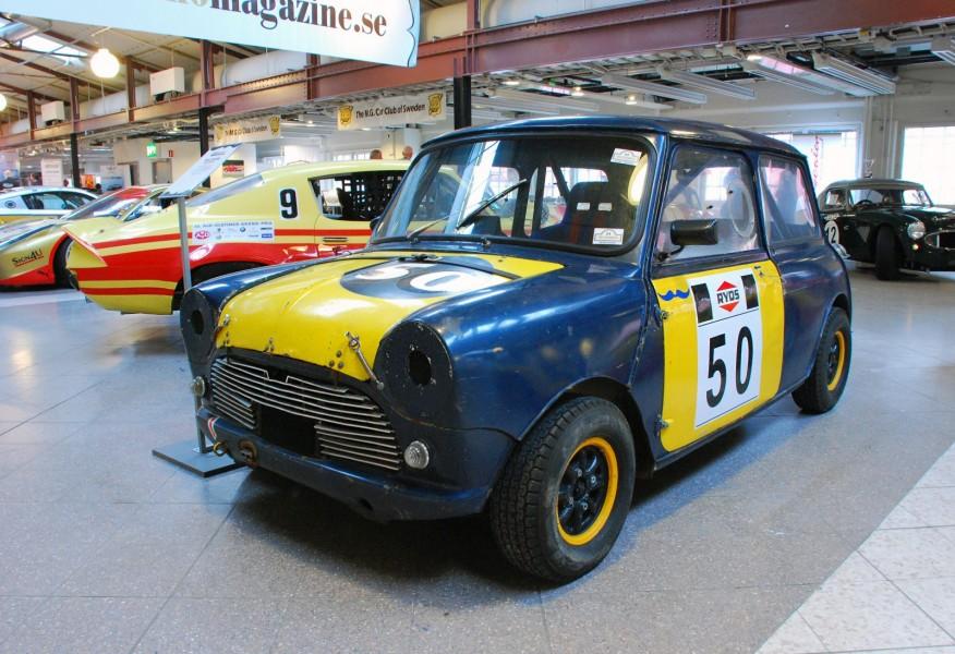 En legendarisk svensk racerbil: Picko Trobergs SM-vinnande Mini Cooper.