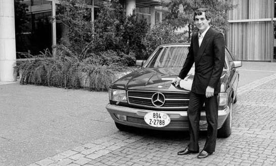 Och en ung lovande förare som hade lyckats bra i Formel 3 och skulle så småningom bli en av F-1 världens stora stjärnor, Ayrton Senna.