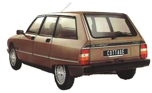 Dekalspecial från Citroën - GSA till Dyane