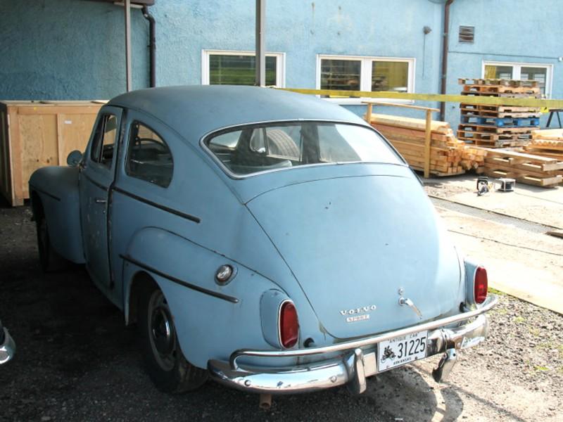 En PV544 Sport från Arkansas, en mycket sen PV då den är av årsmodell 1966 i papperen.