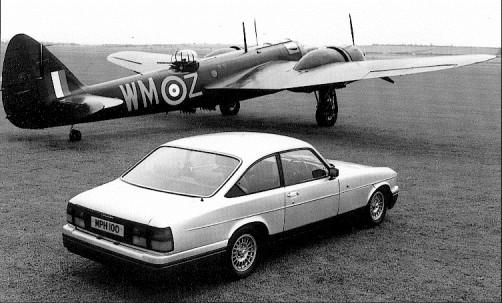 Bristol Blenheim med en Blenheim. Originalet byggdes i 4422 exemplar från 1937 till 1943, den andra kom 1993 och finns officiellt i produktion än idag. Även dom egentligen inte byggs längre.