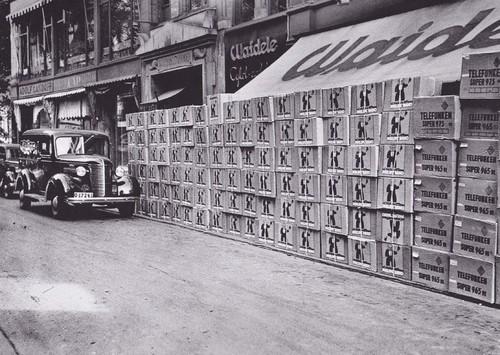 Sista leveransen till Waidele 1939
