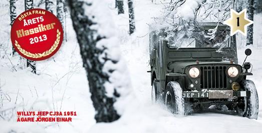 Årets Klassiker-kandidat #1: Jeep CJ3