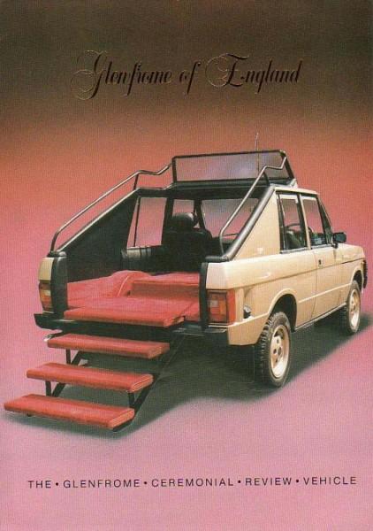 Range Rover trappar upp