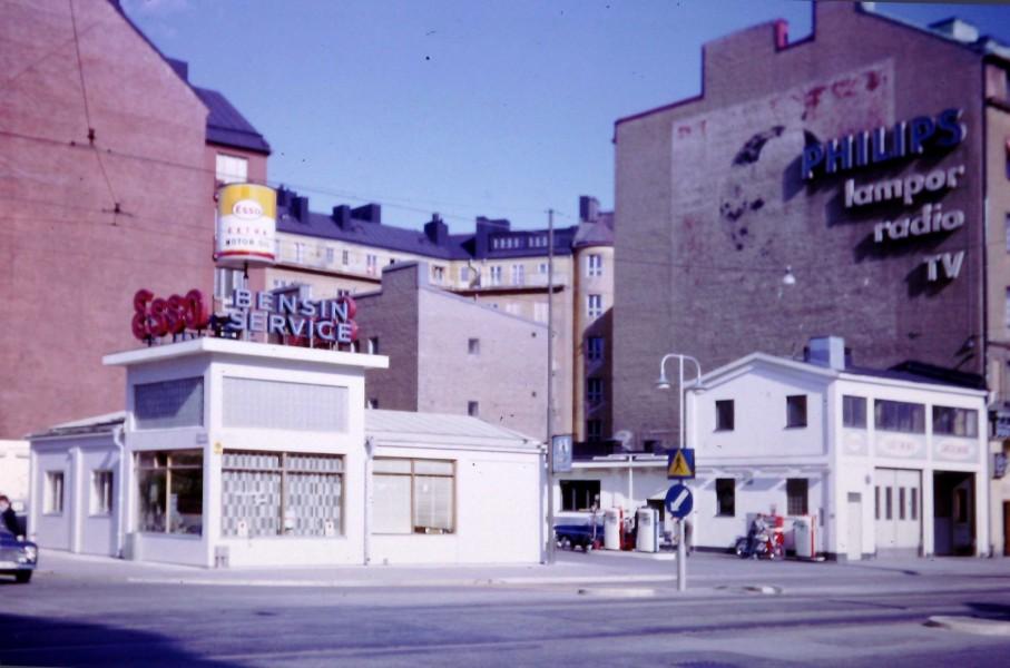 Esso: Ljusterapi i Stockholm