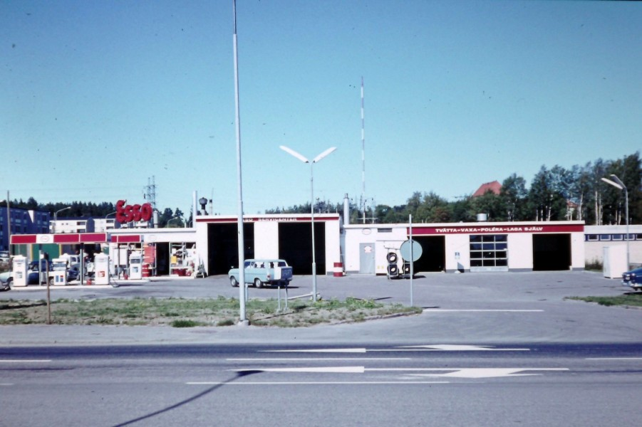 Esso: Servicecenter
