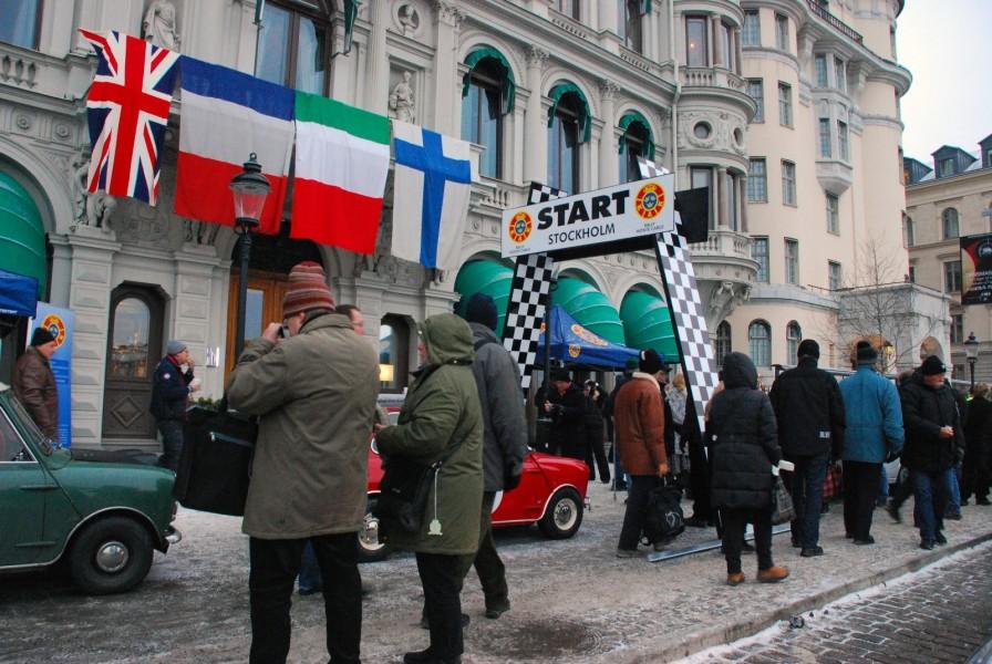 Rätt inramning av en start i Monte Carlo Historique!