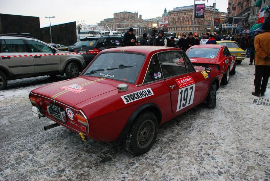 Lancia Fulvia HF från 1970.
