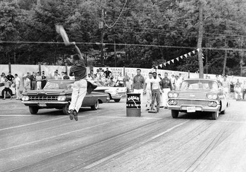 Chevrolet 1958 mot Chevrolet 1959, detta var nästan helt nya bilar då