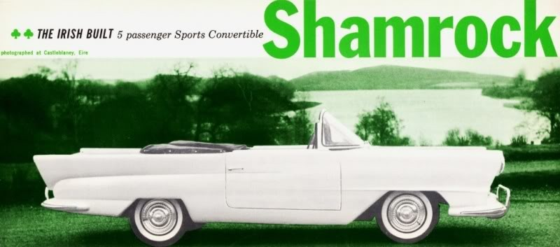 Den vita bilen från den gröna ön