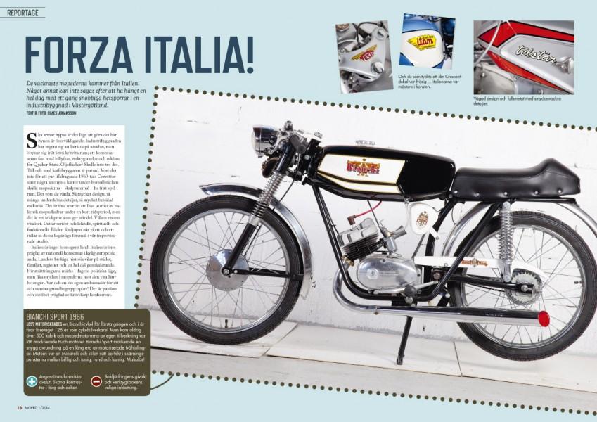 Världens läckraste mopeder är italienska.