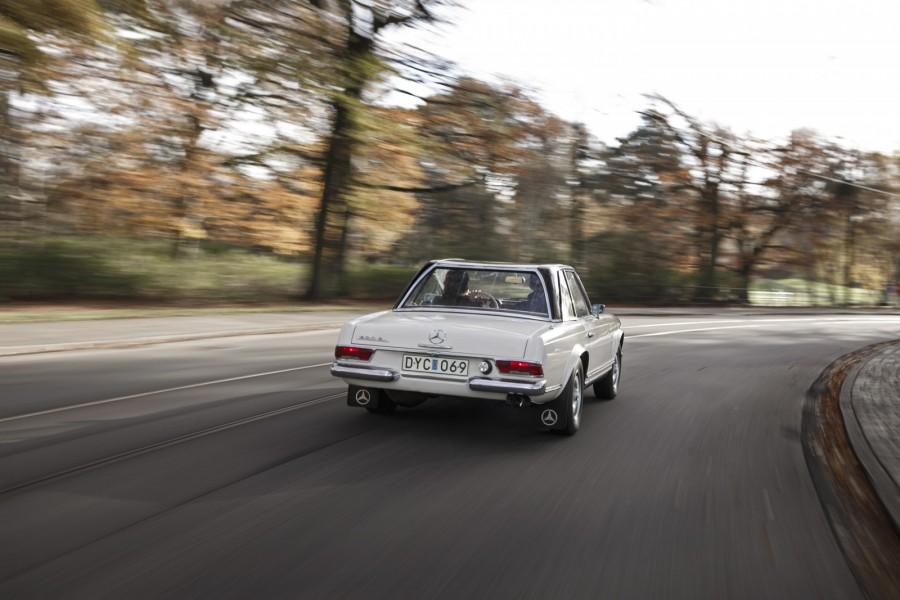 Mercedes 230 SL i Malmö