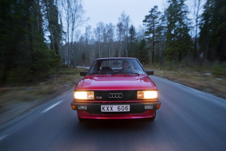 och Audi 80 Quattro i Södertälje!