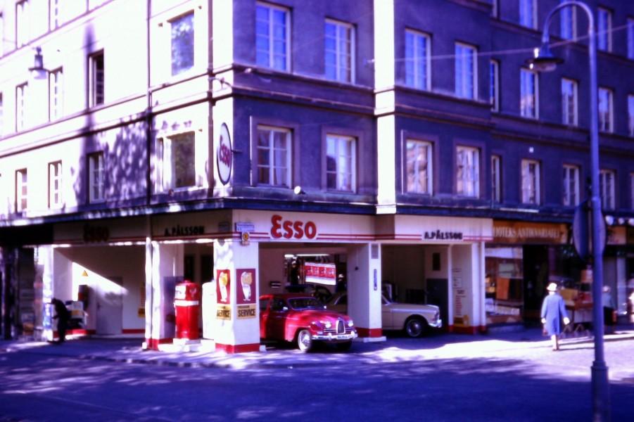 Esso: Östermalmstorg, Stockholm