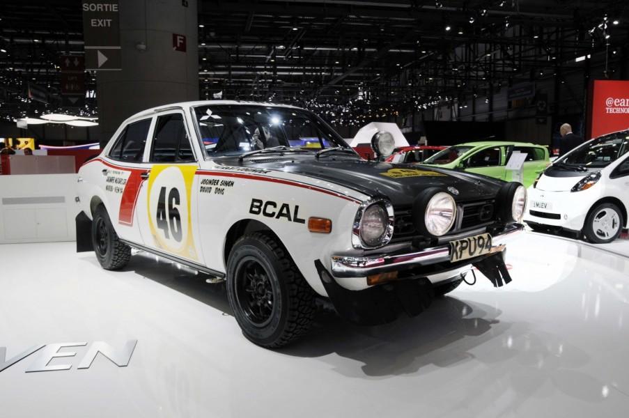 Joginder Singh är mest känd i Sverige för sin seger i Safarirallyt 1965 i en Volvo PV544. Men på 1970-talet vann han rallyt två gånger till bakom ratten på en Mitsubishi. Här är de 1600 GSR som Joginder Singh vann rallyt med 1974.