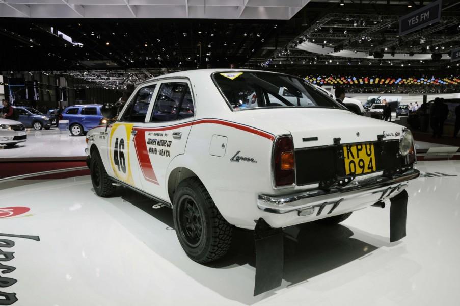 Mitsubishi 1600 GSR i rallyversion hade en 1,6 liter stor motor på 160 hästkrafter.