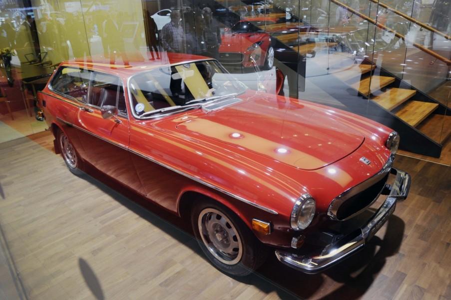I ett trångt och svårfotograferat rum i Volvos monter hittar vi en 1800ES. Anledningen är mycket enkel. Modellen har inspirerat till Volvos senaste konceptbil.