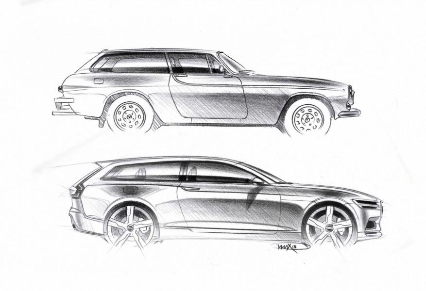 Volvo Concept Estate är den tredje konceptbilen som Volvo visat upp inför premiären på den nya generationen XC90. Varifrån inspirationen kommit är ingen hemlighet.