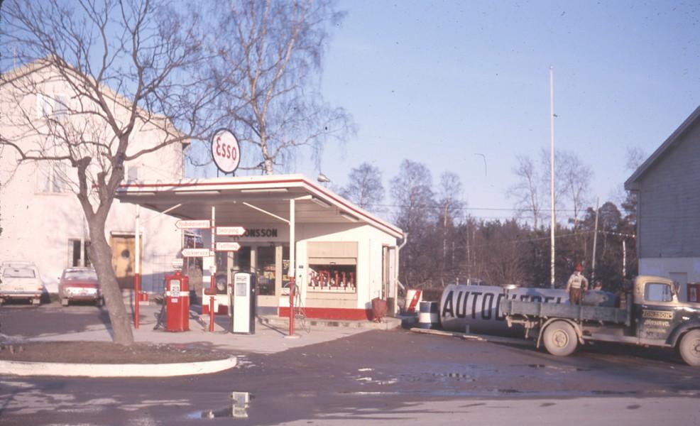 Esso – min barndoms station