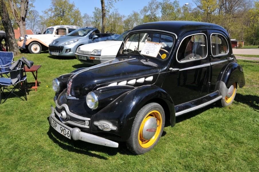 Fest för franska fordon på söndag!