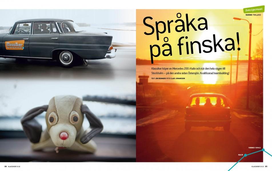 Genom Finland i Fena!