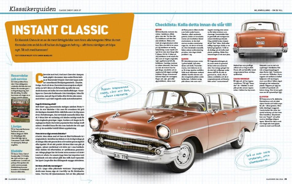 Så köper du en Chevrolet 1955-57!