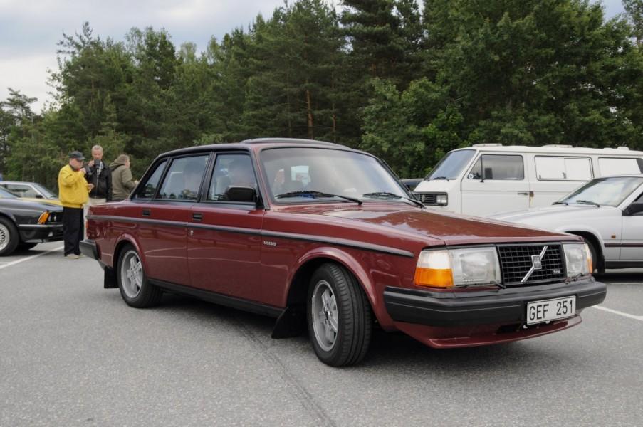 Fantastiskt fin Volvo 240 turbo som synts i en köpguide i Klassiker.