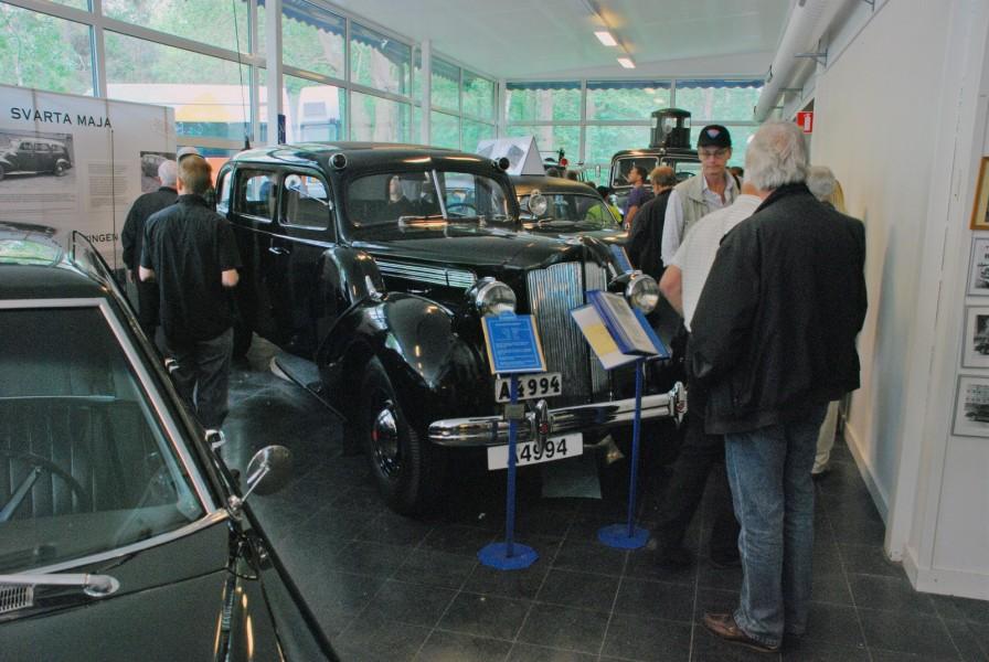Polistekniska Museet i Sörentorp är stängt utom för grupper. Men idag var det öppet och fritt inträde för deltagarna i Motorhistoriska Dagen - ett kul initiativ!