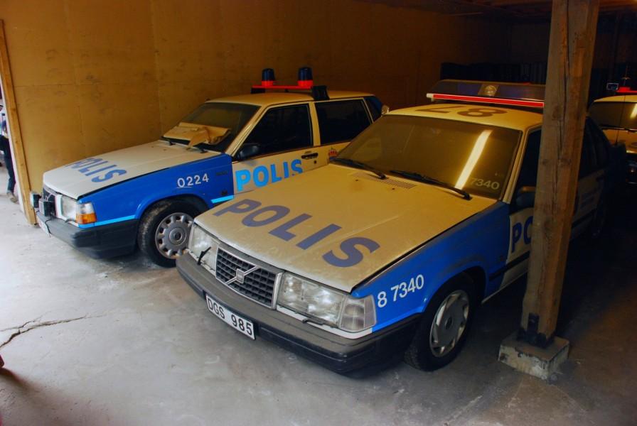 Inte nog med att Polistekniska Museet var öppet, man hade också öppnat sina förråd och visade upp det som normalt inte visas på museet.