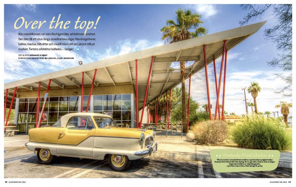 Nash Metropolitan och Googie-arkitektur – vilken kombination!